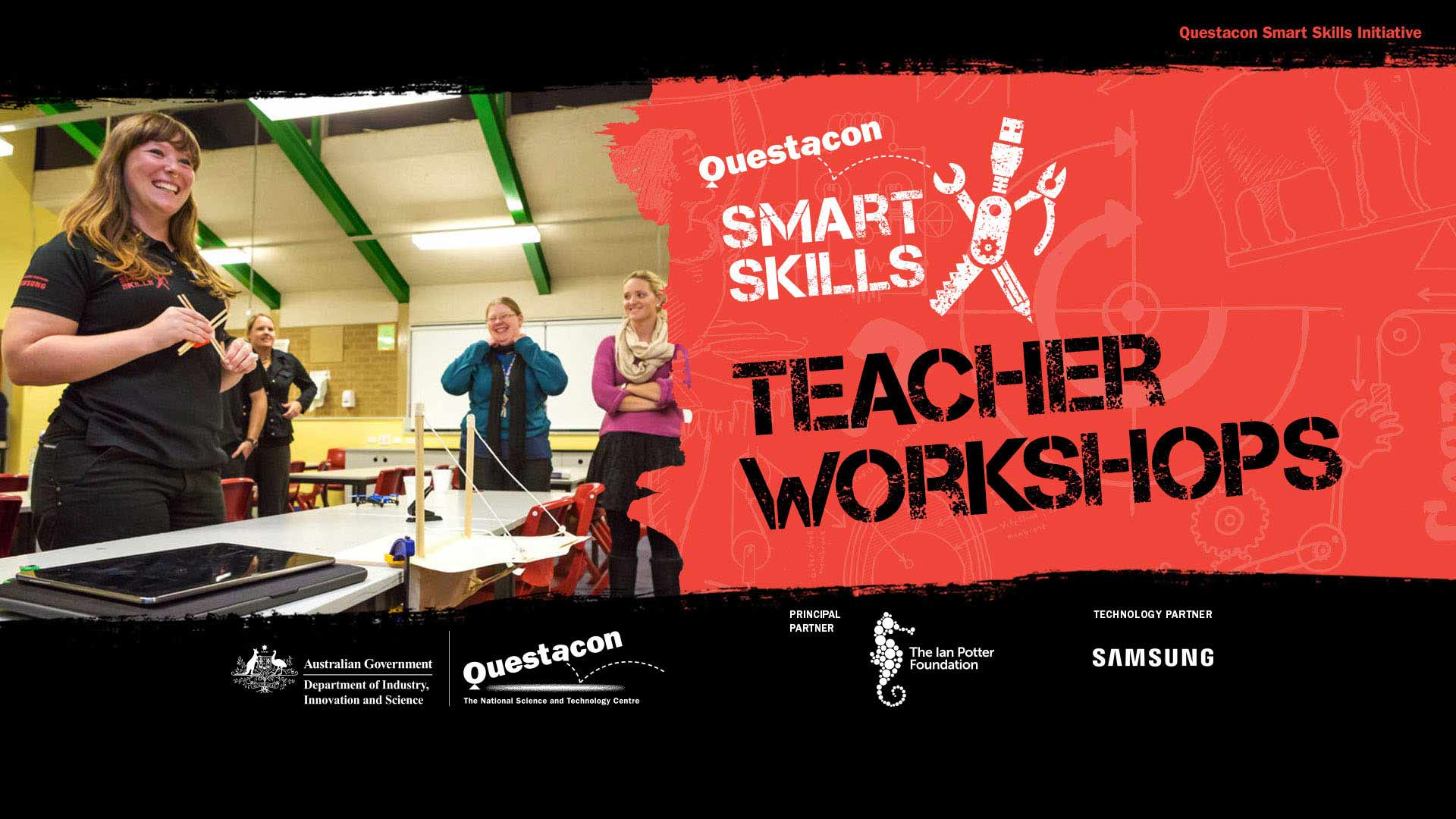 questacon smart skills teacher workshops