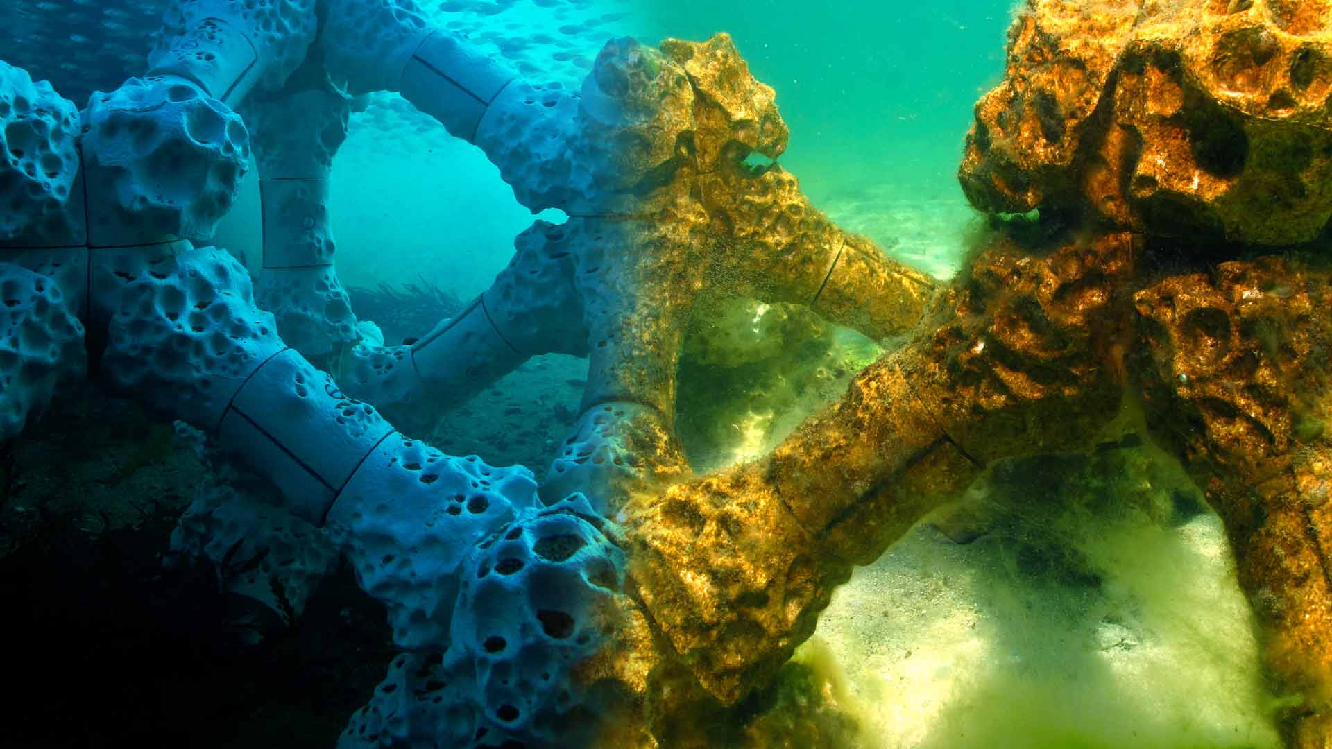 Submerged artificial reef
