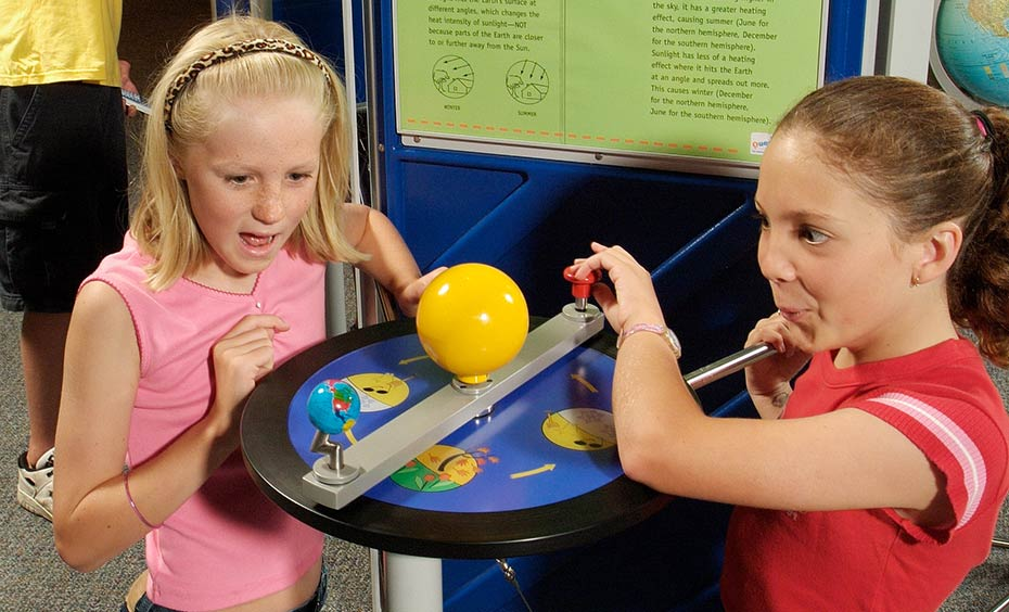 Seasons In A Spin Questacon The National Science And