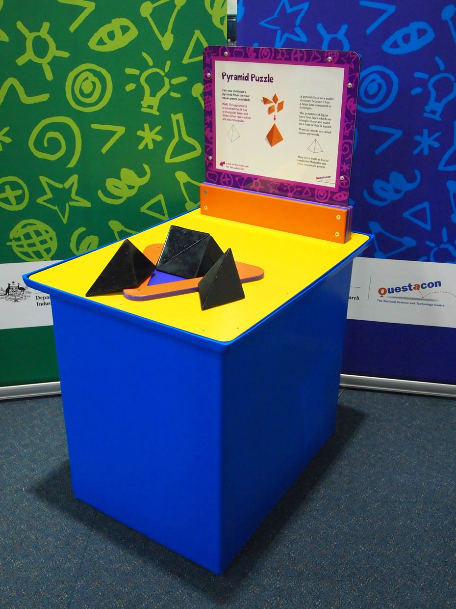 Pyramid Puzzle Questacon The National Science And