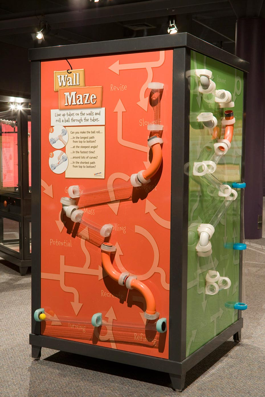 Wall Maze | Questacon - The National Science and Technology Centre