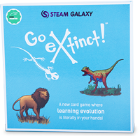 Go Extinct, available for purchase from the online Q Shop