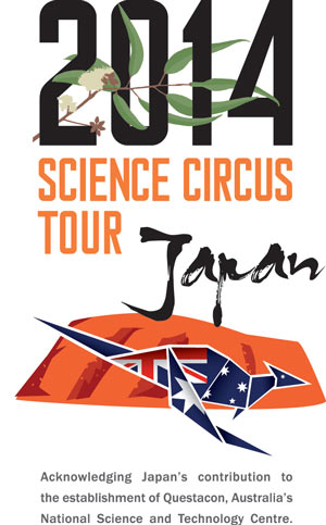 Logo: 2014 Science Circus Tour Japan