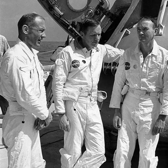 The Apollo 11 crew