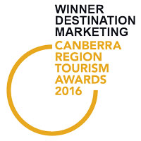 Logo: Canberra Region Toursim Awards