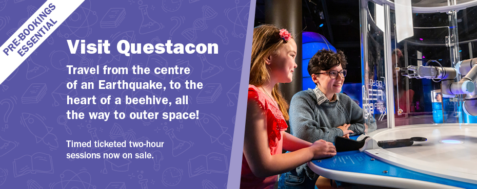 Questacon two-hour sessions tickets on sale now