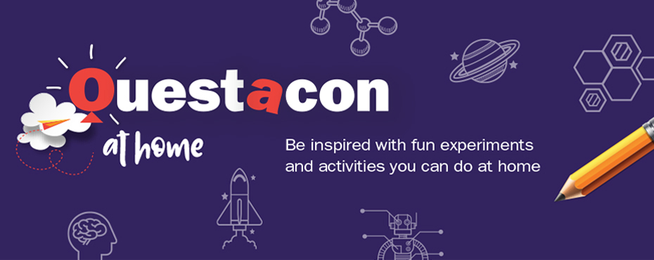 Questacon at home — fun science activities for kids