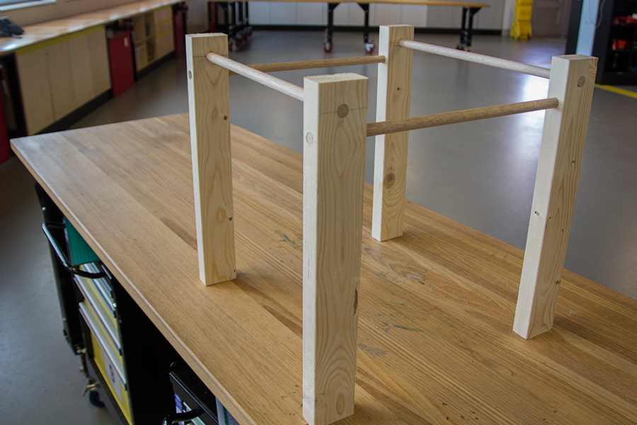 Build a Ball Run Frame | Questacon - The National Science and ...